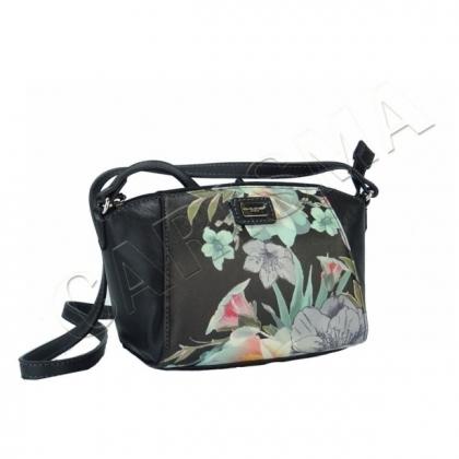 Черна малка чанта David Jones