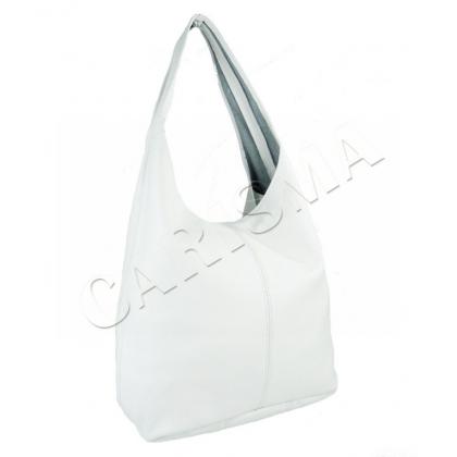 Бяла чанта тип торба,1395