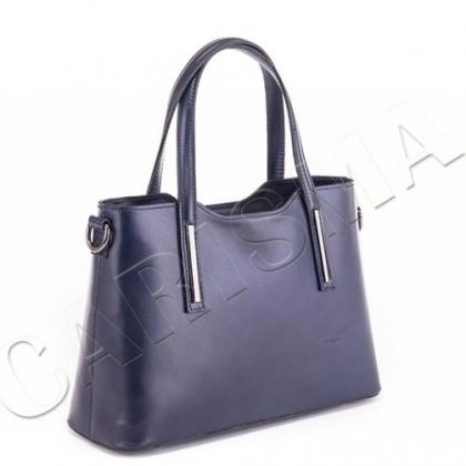Чанта цвят индиго