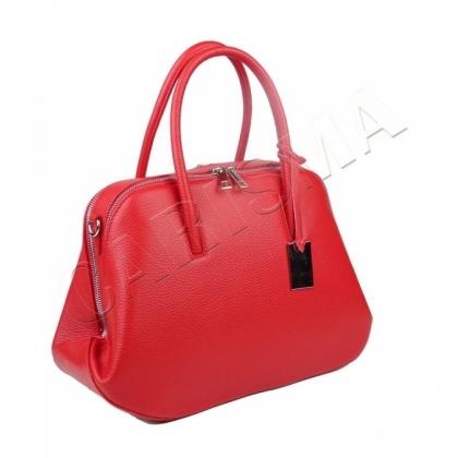 Стилна дамска чанта от естествена кожа 1026-1