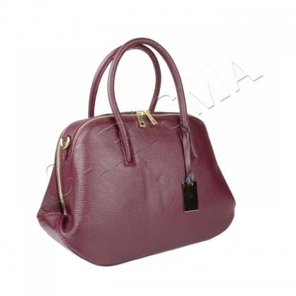 Стилна дамска чанта от естествена кожа 1026-2