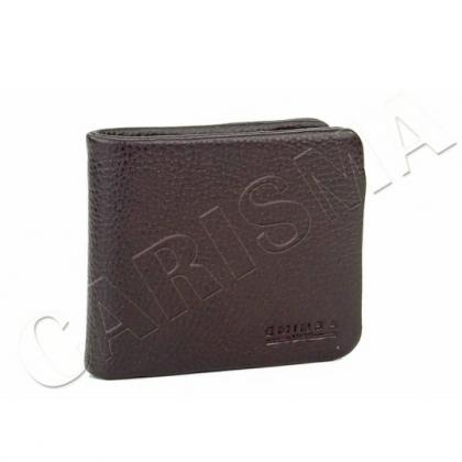 Стилно мъжко портмоне от естествена кожа 1059-1