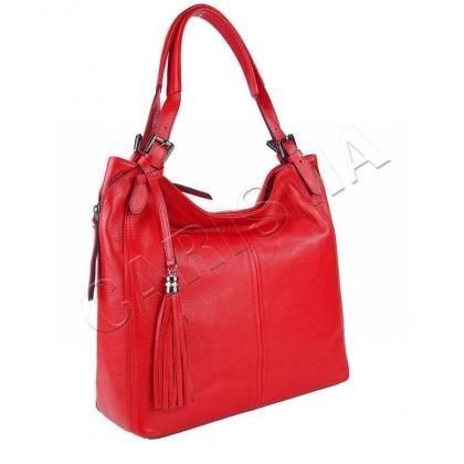 Елегантна дамска чанта от естествена кожа 1243