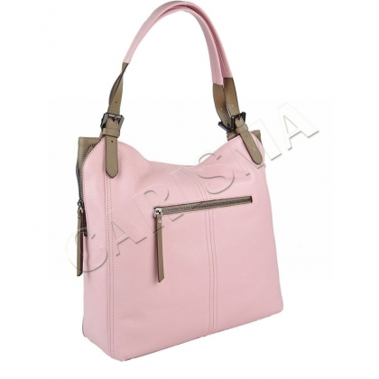 Лятна розова чанта