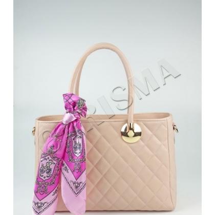 Розова елегантна чанта