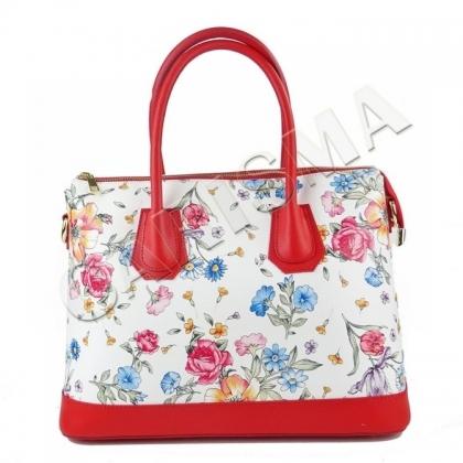 Дамска чанта на цветя