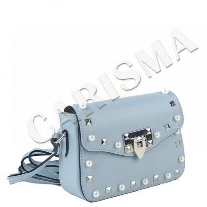 Малка дамска чанта с перли, През рамо, 1244-0