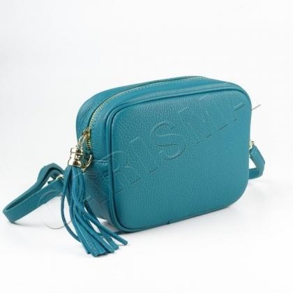 Малка чанта за през рамо от естествена кожа,567-4