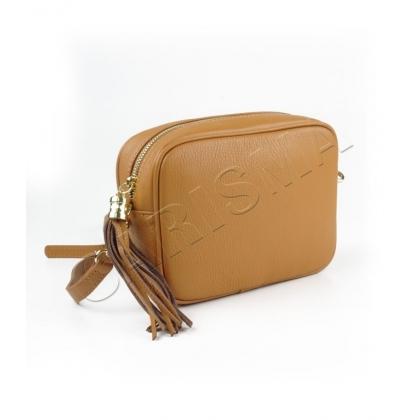Малка чанта през рамо естествена кожа, 567-5