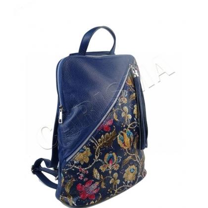 Чанта раница от естествена кожа 1137