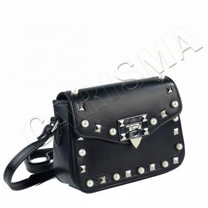 Малка дамска чанта с перли 1244-1