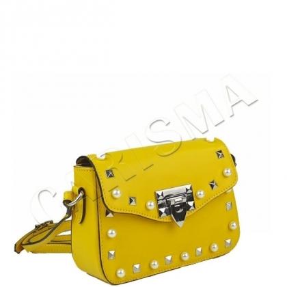 Малка дамска чанта с перли 1244-4