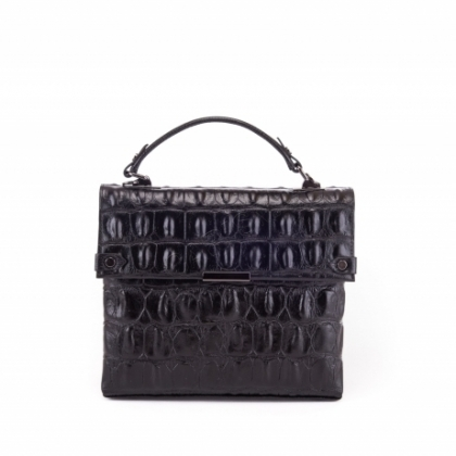 Малка черна чанта на рамо