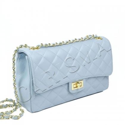 Среден размер дамска чанта, Небесносиньо, 1029CH-1