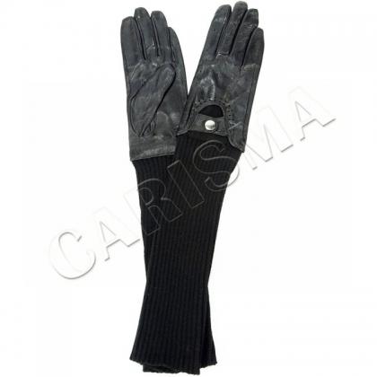Дълги дамски ръкавици от естествена кожа 9018