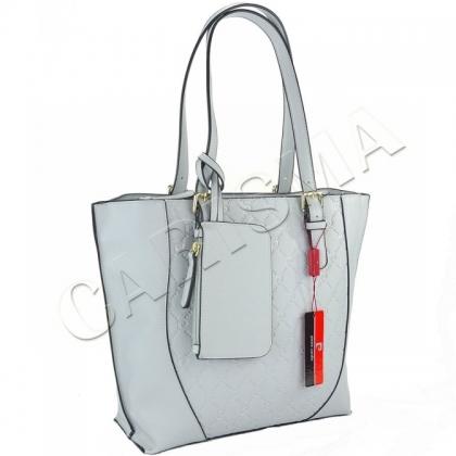 Дамска чанта Pierre Cardin в светло син цвят