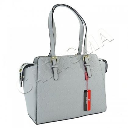 61940c69931 Дамска чанта Pierre Cardin на букви в светло синьо