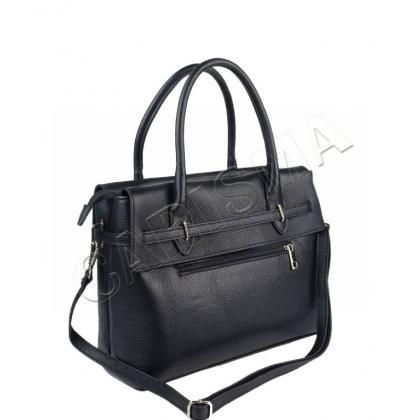 Черна елегантна дамска чанта