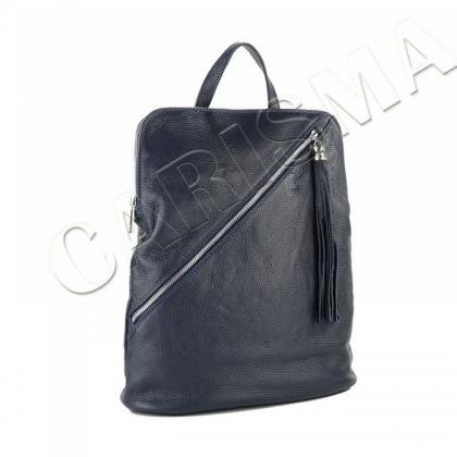 Дамска чанта раница от естествена кожа I2572-1