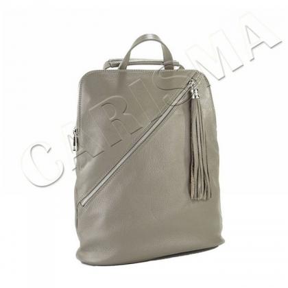 Сива дамска раница чанта