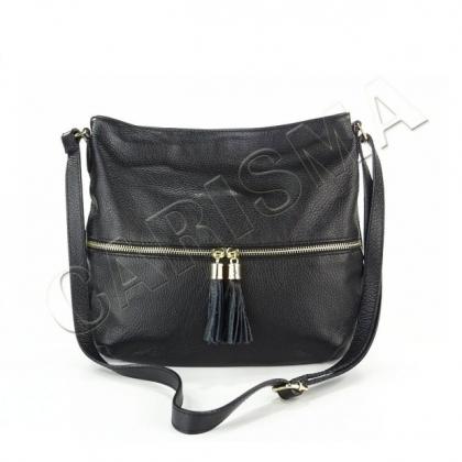 Дамска чанта с пискюли L2393-1