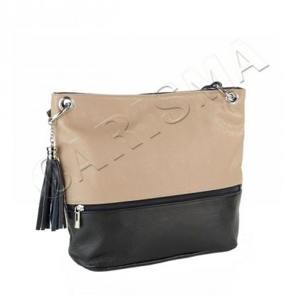 Дамска чанта в два цвята I2171