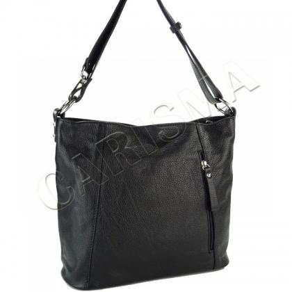 Спортно елегантна чанта от естествена кожа I1029-1