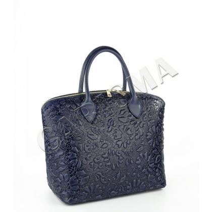 Дамска чанта от естествена кожа L16664-1