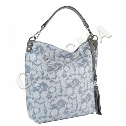 Оригинална дамска чанта тип торба 6321-3