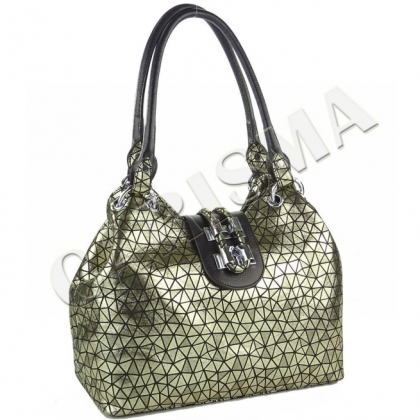 Дамска чанта на ромбчета