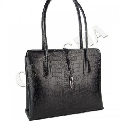 Дамска чанта от естествена кожа P2310-2