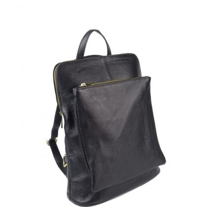 Голяма черна чанта раница с отделения 1150