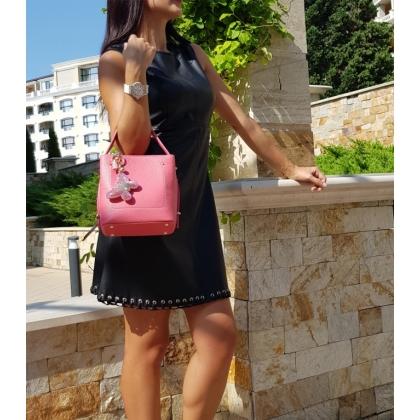 Дамска чанта от естествена кожа I1438-2