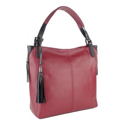 Елегантна дамска чанта, Бордо, 1243-6