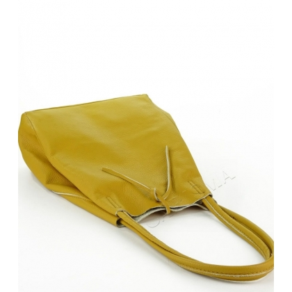 Кожена чанта пазарска