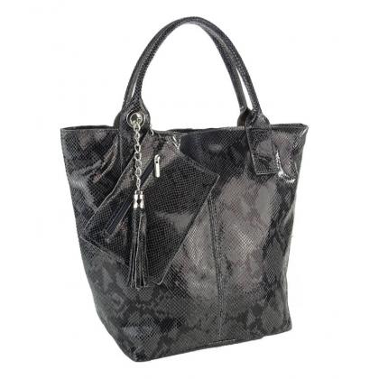 Торба с змийска щампа