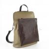 Раница чанта в комбинация от два цвята