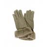 Бежови плюшени ръкавици