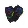 Плетени дамски ръкавици с пух