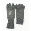Сиви текстилни ръкавици