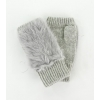 Дамски ръкавици заешки косъм