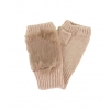 Дамски ръкавици със заешки пух