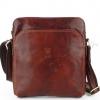 Мъжка чанта с външен джоб