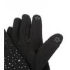 Тактилни черни ръкавици