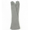 Дълги сиви ръкавици