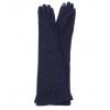 Сини дълги ръкавици