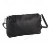 Черна малка чанта през рамо