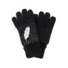 Черни ръкавици с перо