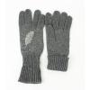 Дамски ръкавици с перо