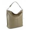 Чанта тип торба в цвят каки